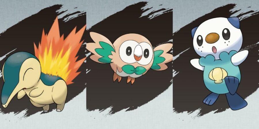 The starter Pokemon for Pokemon Legends Arceus