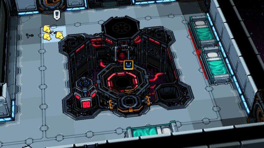 The Command Center in Starmancer