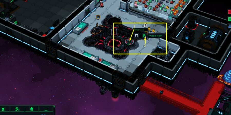 Placing Metal in Starmancer