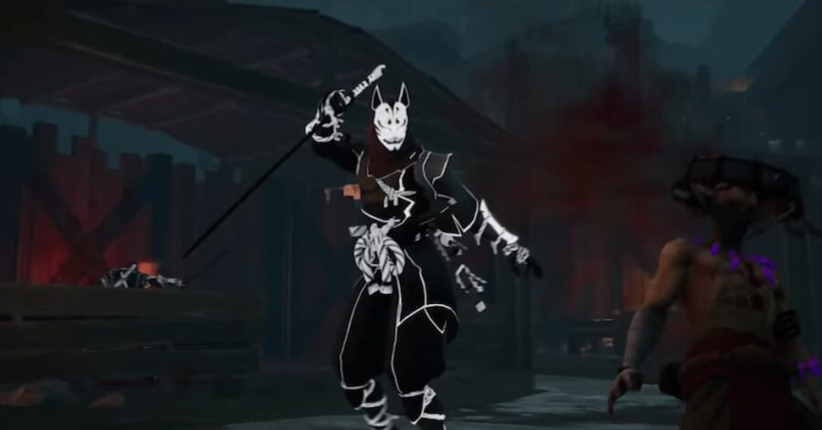 Screenshot of Aragami 2 gameplay on Youtube