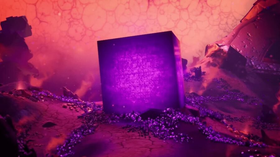 Screenshot of Fortnite gameplay trailer