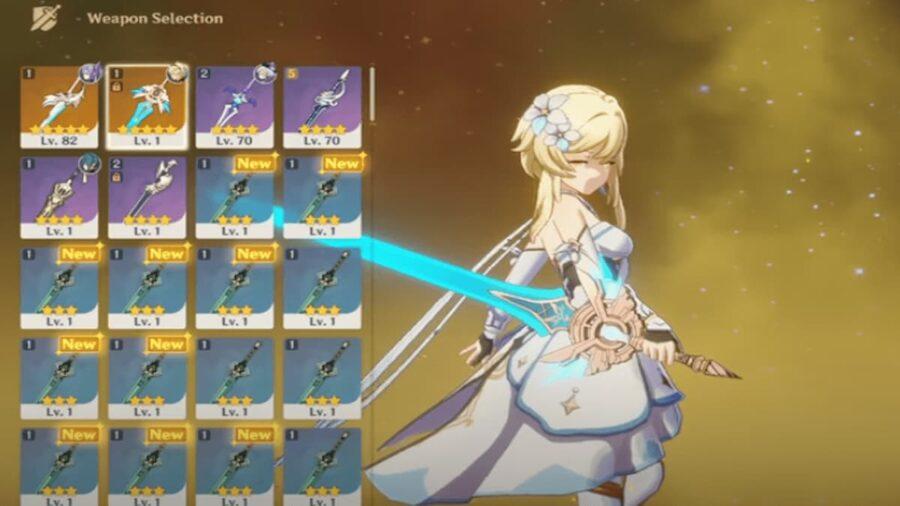 Screenshot of Genshin Impact gameplay - youtube