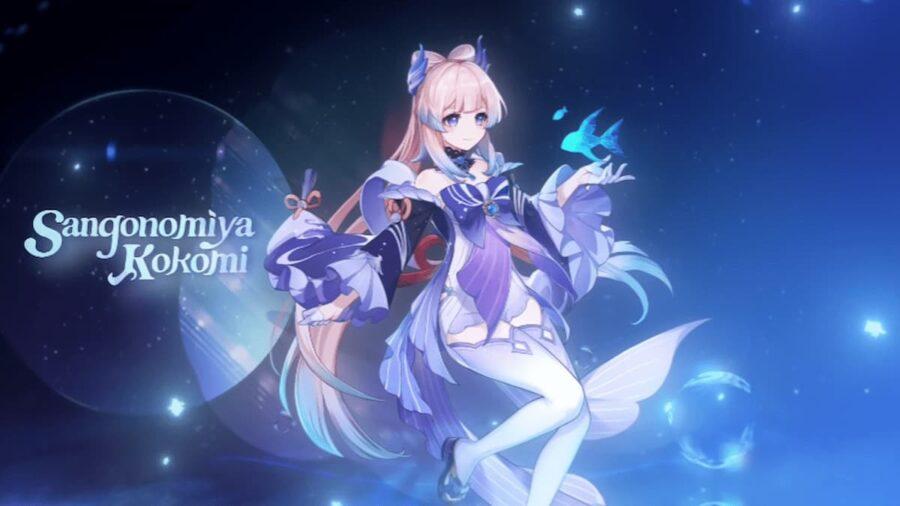 Screenshot of Genshin Impact gameplay trailer