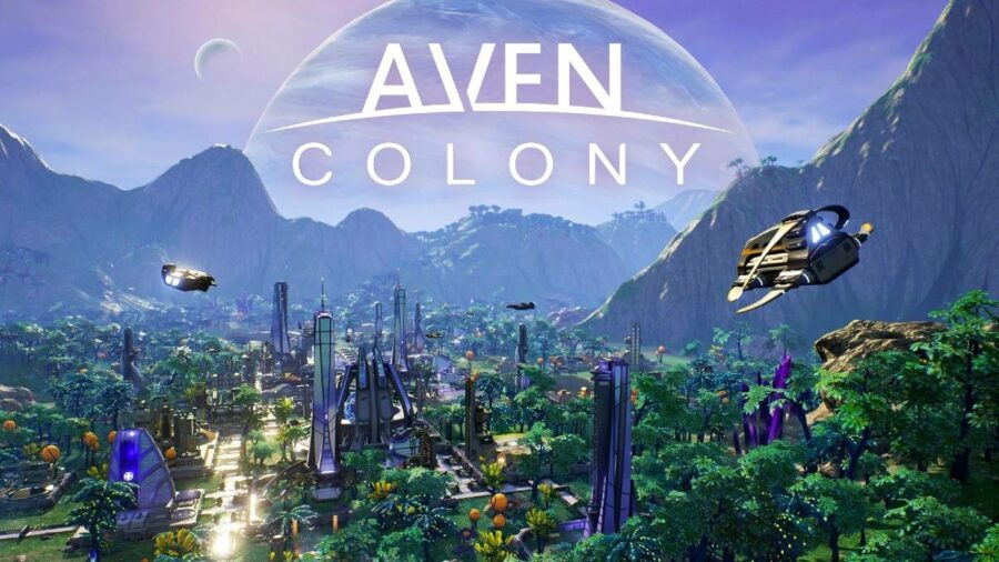 The main title for Aven Colony