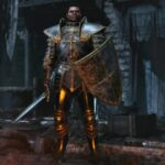 A Paladin in Diablo 2 Resurrected