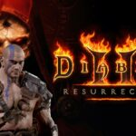 A Barbarian on the Diablo 2 Resurrected Title