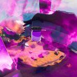 A bottle of Mezmerizing Violet in Fortnite