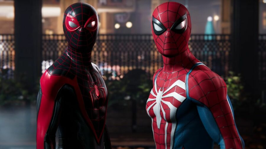 A still from the Spider-man 2 trailer.