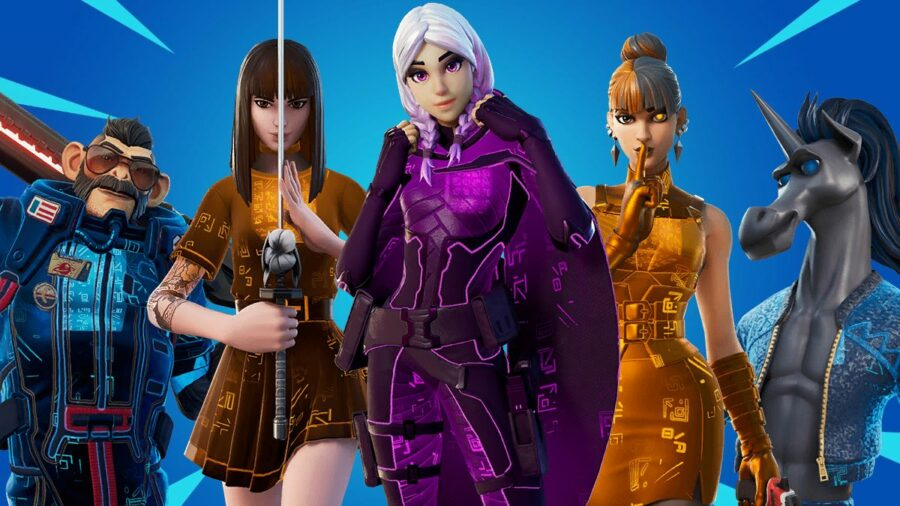 Super Styles from Fortnite Chapter 2 SEason 8