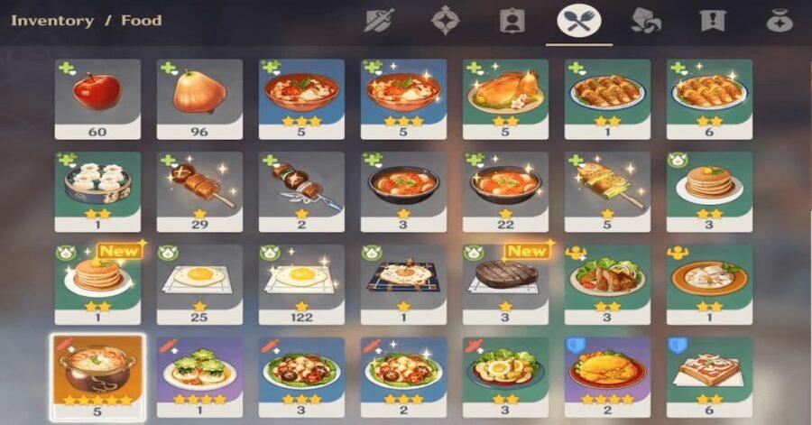 Screenshot of Genshin Impact gameplay