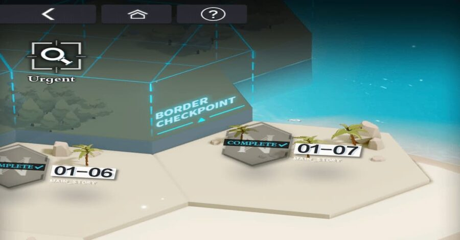 Screenshot of Tears of Themis gameplay