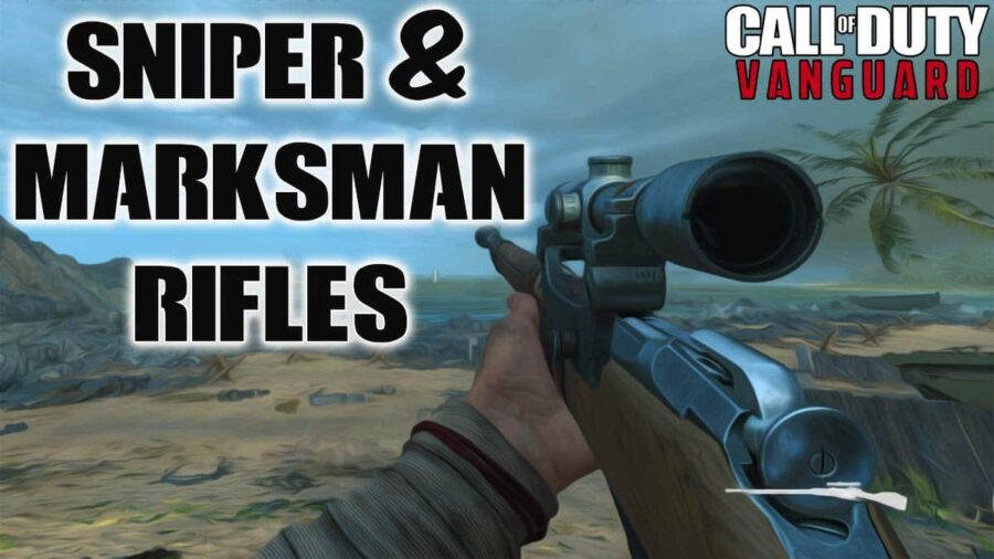 all sniper and marksman rifles in cod vanguard