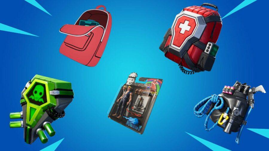 Random Backpacks in Fortnite
