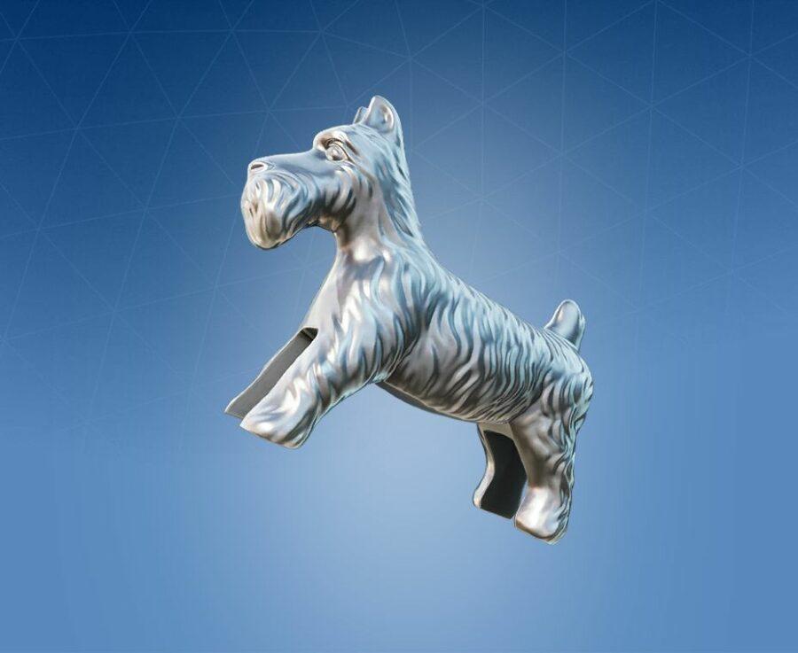 Scottie Dog Back Bling