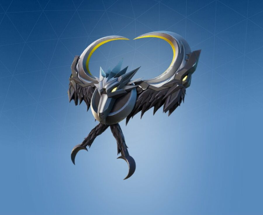 Wolfmoon Crest Back Bling