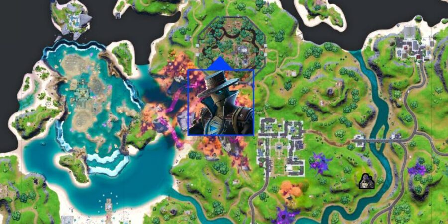 Wraths location in Fornite C2S8