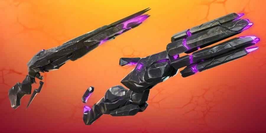 Sideways Rifle and Minigun in Fortnite