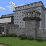 A Prison Structure in Minecraft