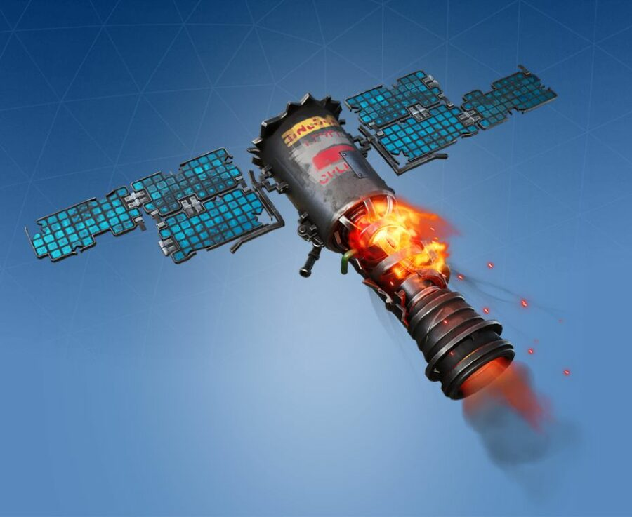 Crashing Satellite Glider