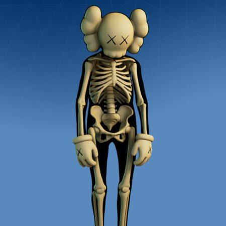Kaws Skeleton skin
